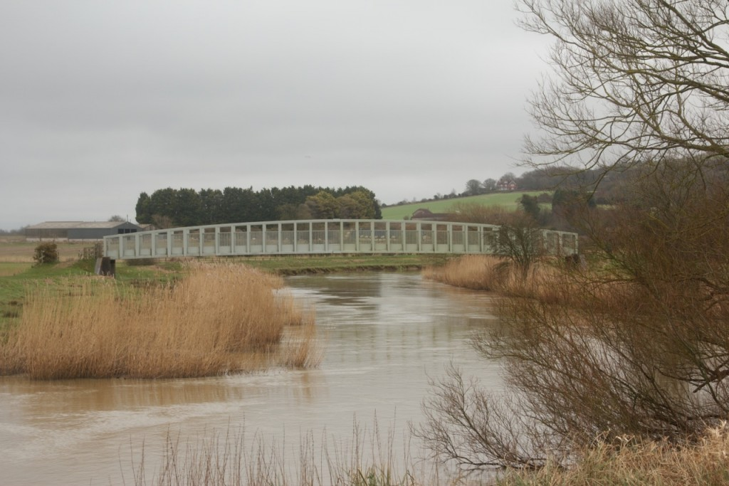 A bridge over the River Arun