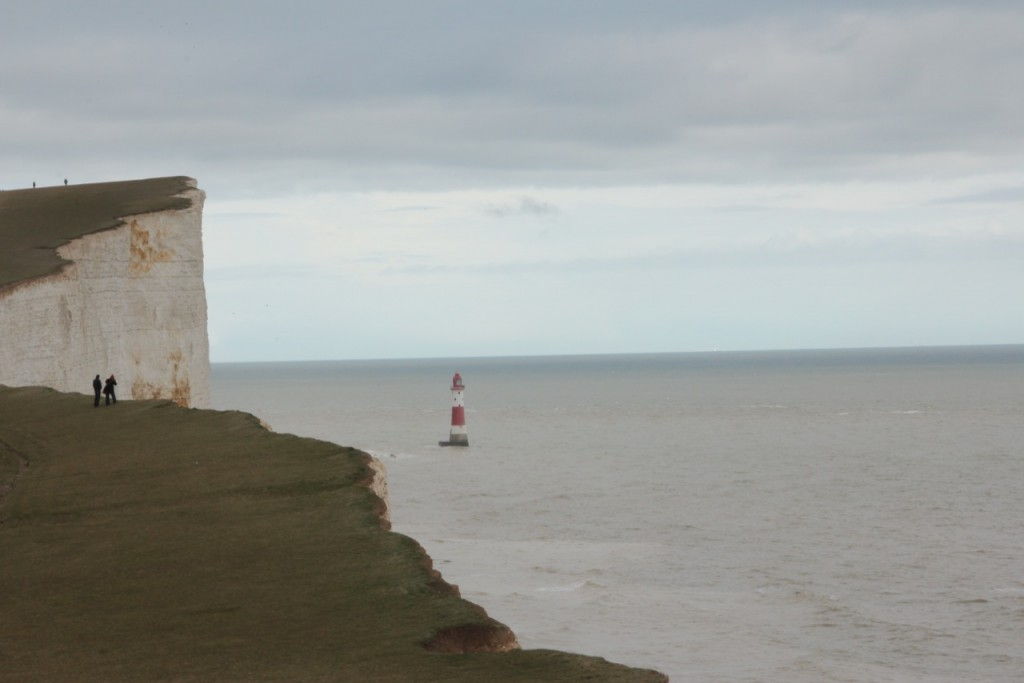 Beachy Head Lighthouse from the West