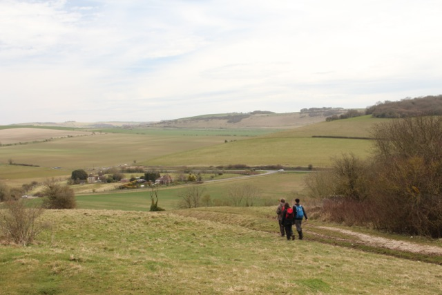 A view of the Long Furlong