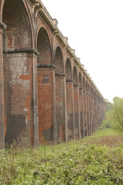Railway viaduct from the west